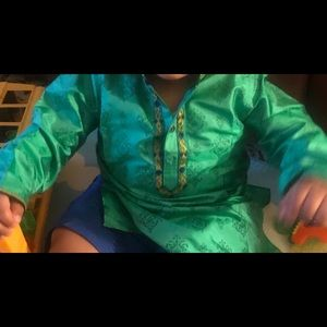Other - Baby Indian Kurta Green size 1